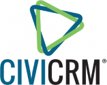 CiviCRM logo and link