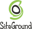 SiteGround logo and link