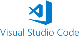 VS Code logo and link